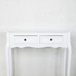 Baltas staliukas (90 x 100 x 30 cm)
