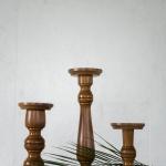 Medinės žvakidės (12)