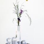 Skaidrūs stoveliai / vazelės, nuo 10 - 26 cm (H)