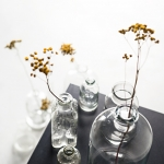 Stikliniai buteliukai - nuo 10 - 30 cm (H)