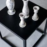Akmeninės žvakidės - 12 cm (H) / vazelės - 22 cm (H)