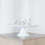 Balta tortinė - ø 31 cm, 10 cm (H)