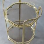 Auksinis servantas: H 77cm (iki rankenų) H 66cm ( iki padėklo), padėklo plotis 38cm