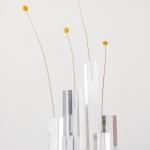 Akrilinio stiklo stoveliai: 10 - 26 cm (H)