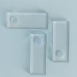 Akrilinio stiklo servetėlių žiedai: H 4,5cm, ilgis 11cm