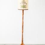 Didysis medinis toršeras: Medinis mažasis toršeras: 149 cm (H)