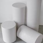 Apvalios kolonos: ø 31cm, H 90cm - 2 vnt, H 75cm - 2 vnt, H 48cm - 1 vnt, H 40cm - 1 vnt, H 29cm - 1vnt