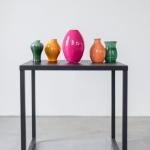 Spalvotos keramikos vazelės: H nuo 8 - 15cm