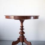 Medinis apvalus stalas, ø 85 cm, 80 cm (H)