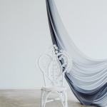 Krėslas Belle (baltos spalvos), 30 vnt