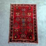 Raudonas vidutinio dydžio - 105 x 160 cm