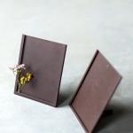 Rudi metaliniai rėmeliai - 11 x 14 (H) cm