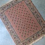 Rožinis su kutais - 170 x 220 cm