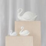Keramikinės gulbės: nuo 10 x 6 cm (H)