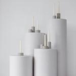Apvalios kolonos: ø 31cm, H 90cm - 2 vnt, H 75cm - 2 vnt, H 48cm - 1 vnt, H 40cm - 1 vnt, H 29cm - 1vnt-2